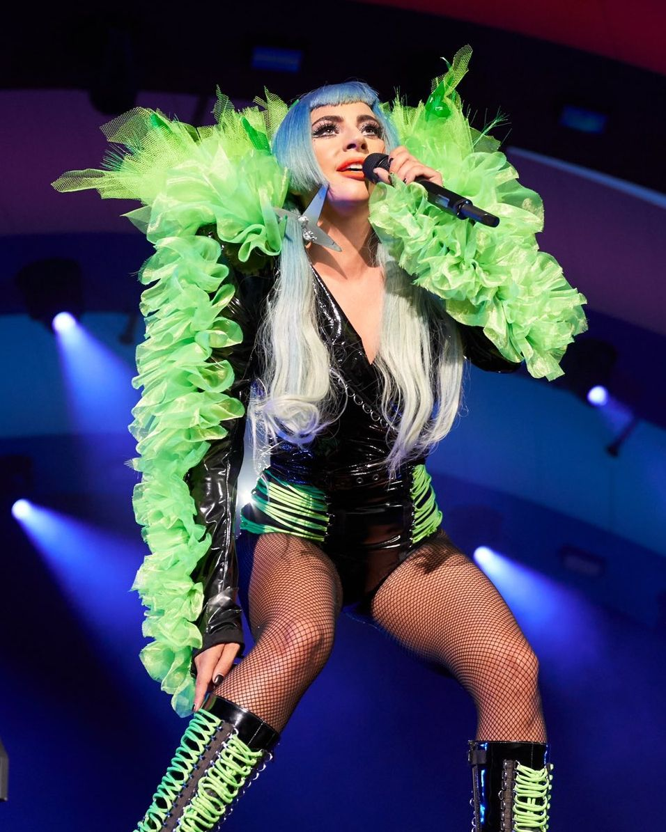 "Gaga Daily on Instagram: ""Lady Gaga performed her ENIGMA"