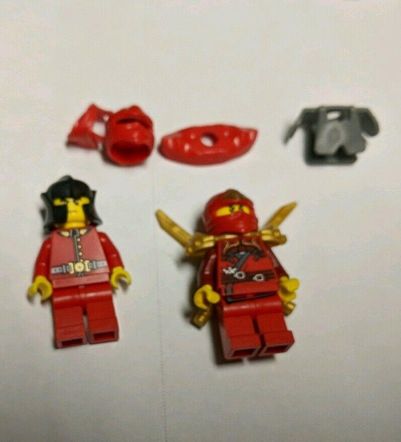 Minifig LEGO 9441 Ninjago Mini Figure Kai ZX w// Armor