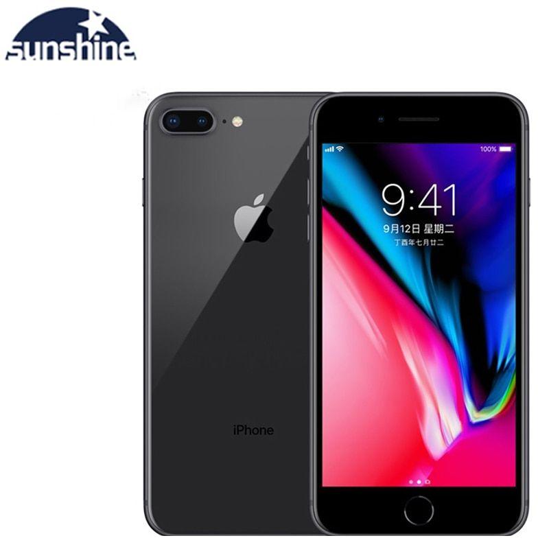 Apple Iphone 8 Plus 3gb 64gb Unlocked Original Used Mobile Phone Cell Phones 3gb Ram 64 256gb
