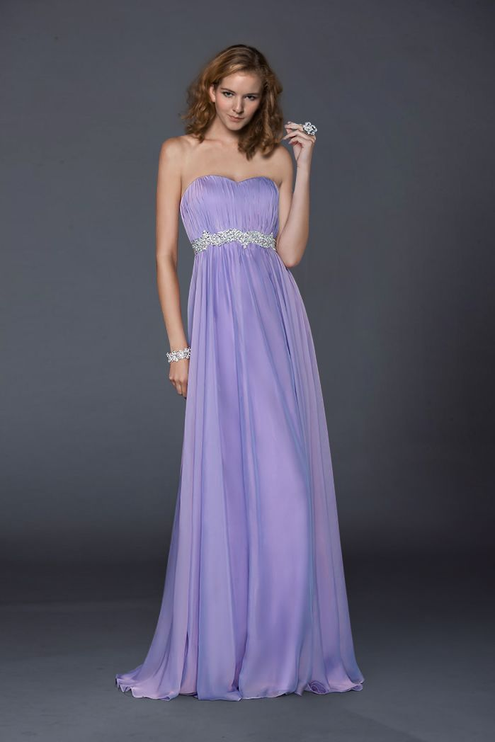 Vestidos de fiesta largos | Tips | Pinterest | Grad dresses, Purple ...