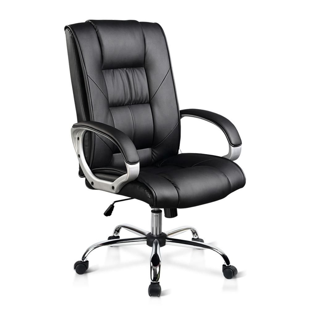 Executive Pu Leather Office Computer Chair Black Ochair G 9082 Bk Ampled Buynow Buyproductsnow Buyon Office Chair Office Chairs Online Modern Swivel Chair