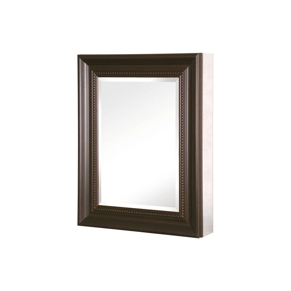 Pegasus 20 In W X 26 In H X 5 1 2 D Framed Bathroom Recessed Or