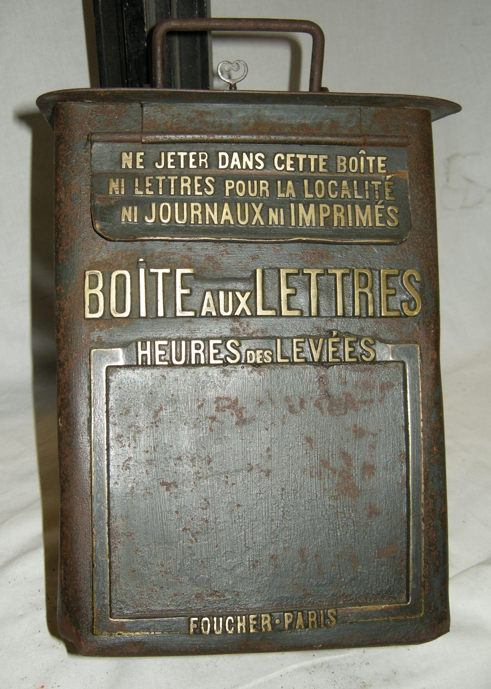 Boîte aux lettres post deux boîtes aux lettres post Double Boîte mailpost