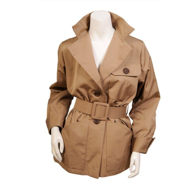 be35128f9 Yves Saint Laurent Numbered Haute Couture Safari Jacket | Items I ...