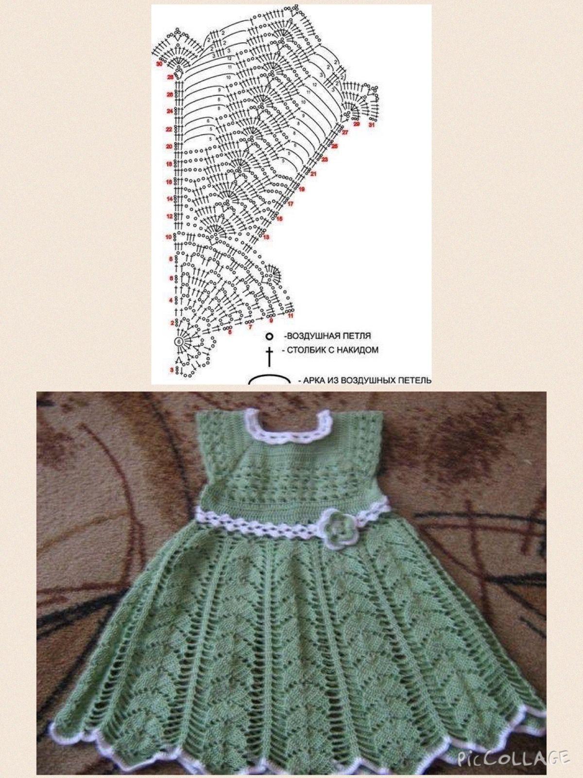 Vestido a crochet blanco stainless steel