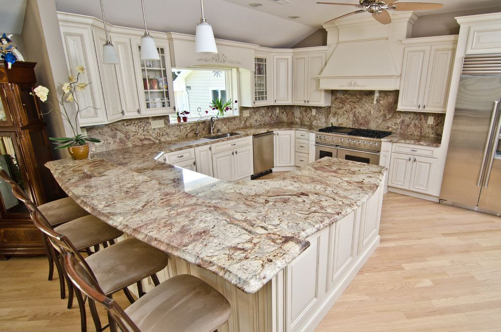 Sienna Bordeaux Granite For A