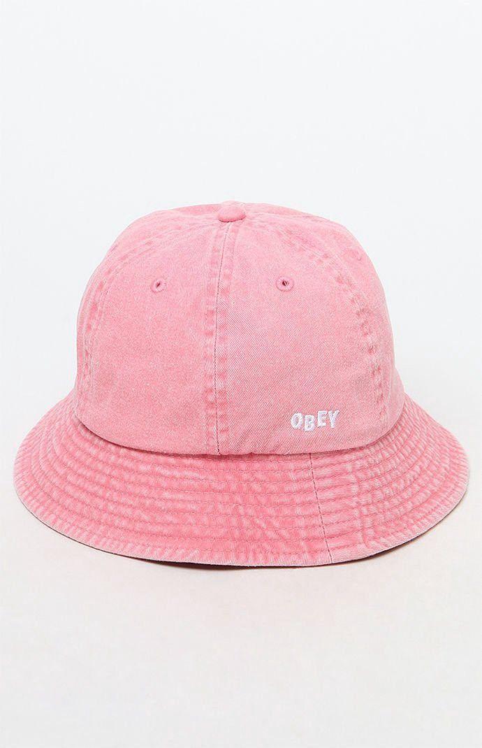 31fbd95104f68 Obey Decades Bucket Hat - Black 1Sz