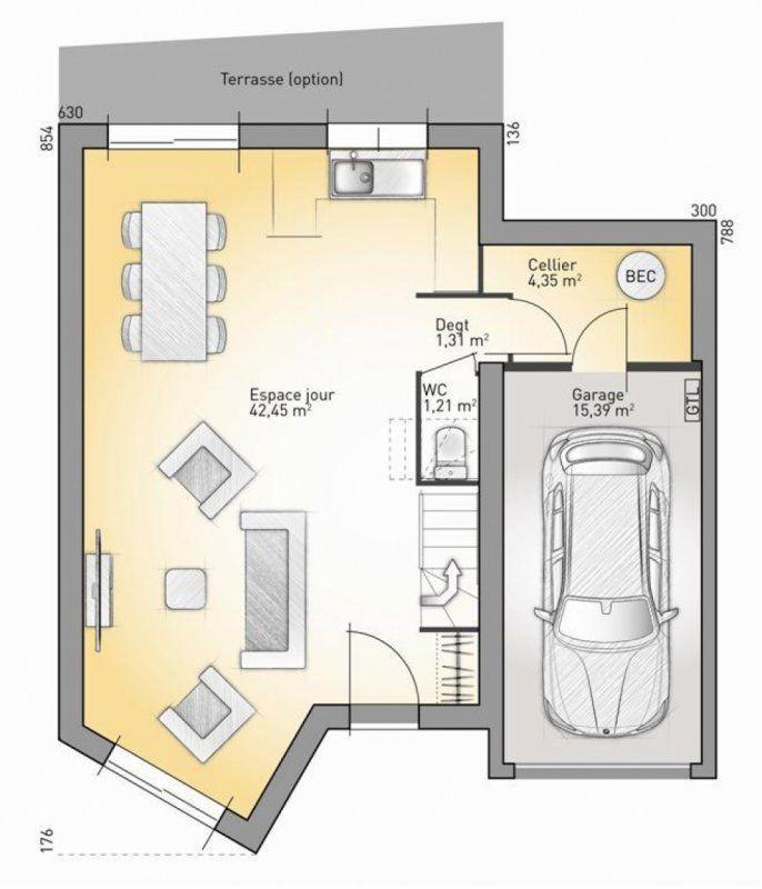 Plan maison neuve à construire - Maisons France Confort Eco Concept - plan maison france confort