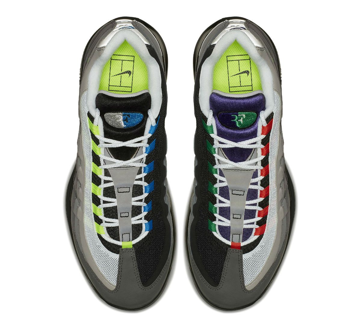 NikeCourt Vapor RF X Air Max 95 Greedy Release Date AO8759-077 Top