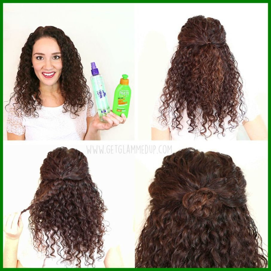 Simple Quick Hairstyles For Curly Hair Curly Hair Styles