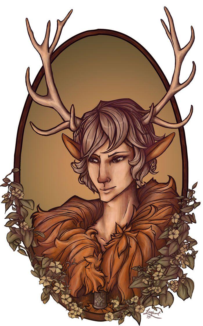 The-Deer by whiteappleartist.deviantart.com on @deviantART