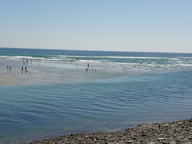 Ogunquit Beach maine. Absolutely love the ocean & love this state. Clearly remember standing in this ocean next to the love of my life, hand in hand, with the most overwhelming feeling of peace & total bliss. Some of the happiest days of my life we're spent here...with my Mark...and our boys :)