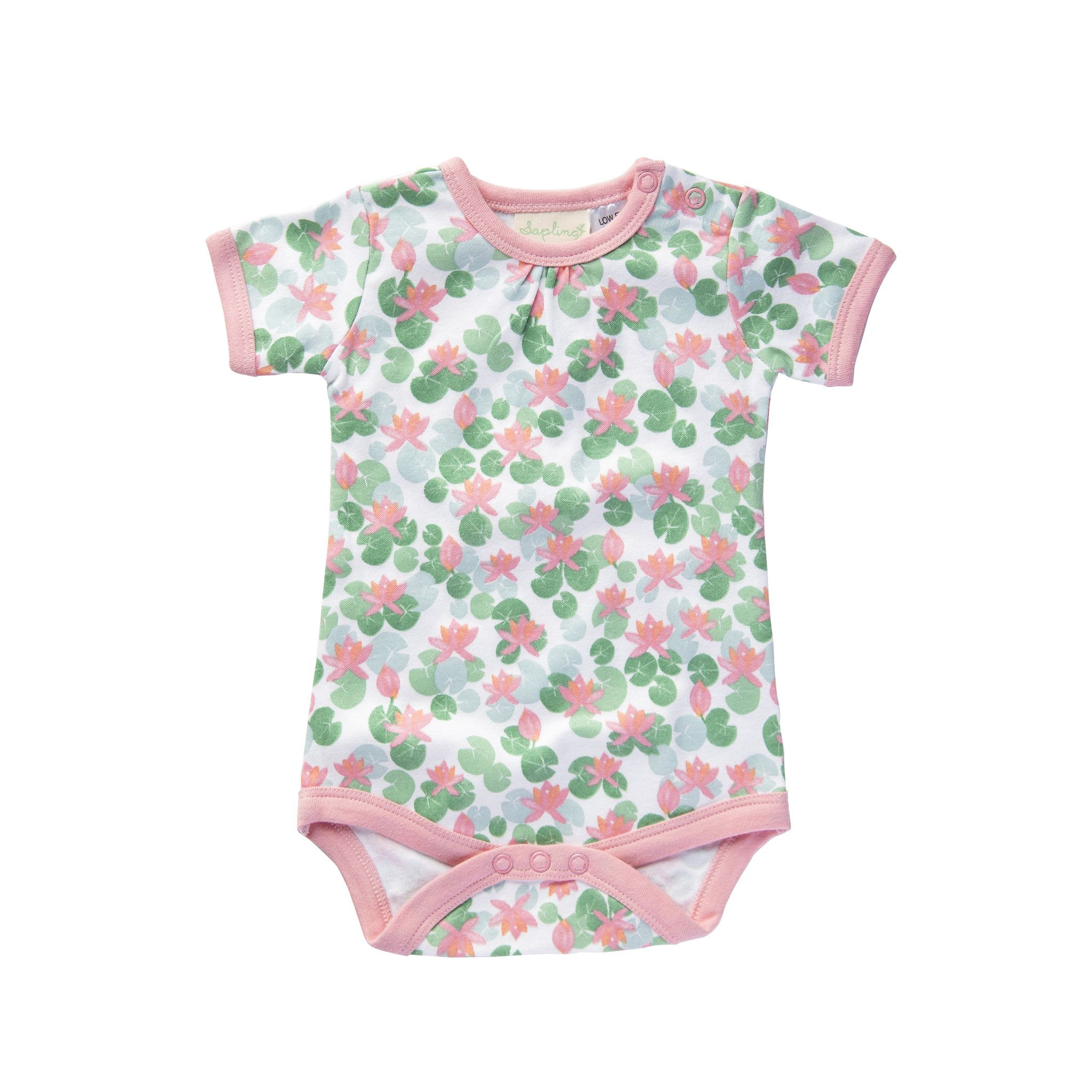 e9ee730d0ae0 Floating Lotus S S Bodysuit – Little Mint Boutique NZ