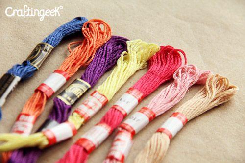Tipos de hilo para hacer pulseras chaquiras pinterest for Tipos de pulseras