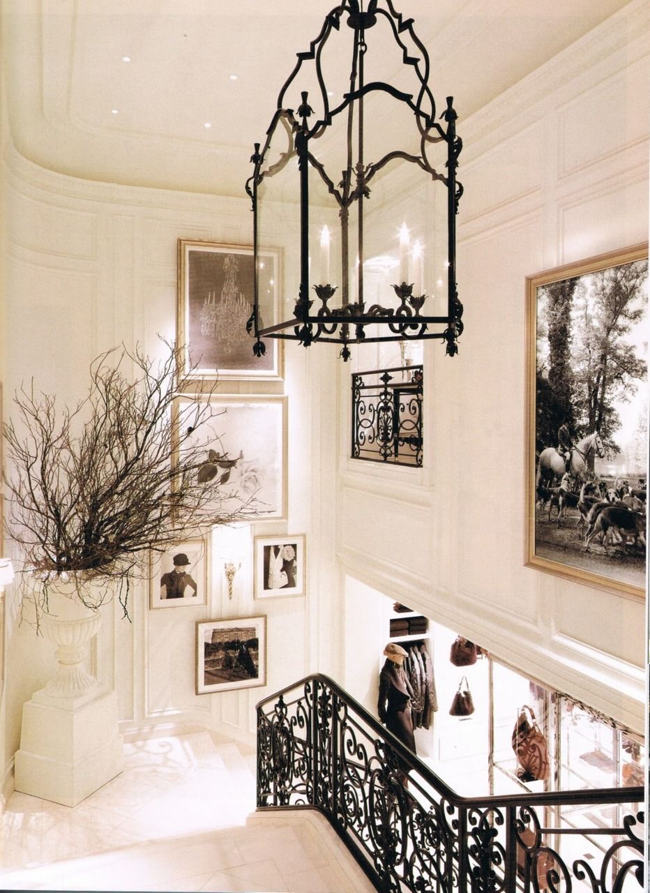 Love the contrast of the pale walls and black rail chandelier and love the contrast of the pale walls and black rail chandelier and wall hanging arubaitofo Image collections