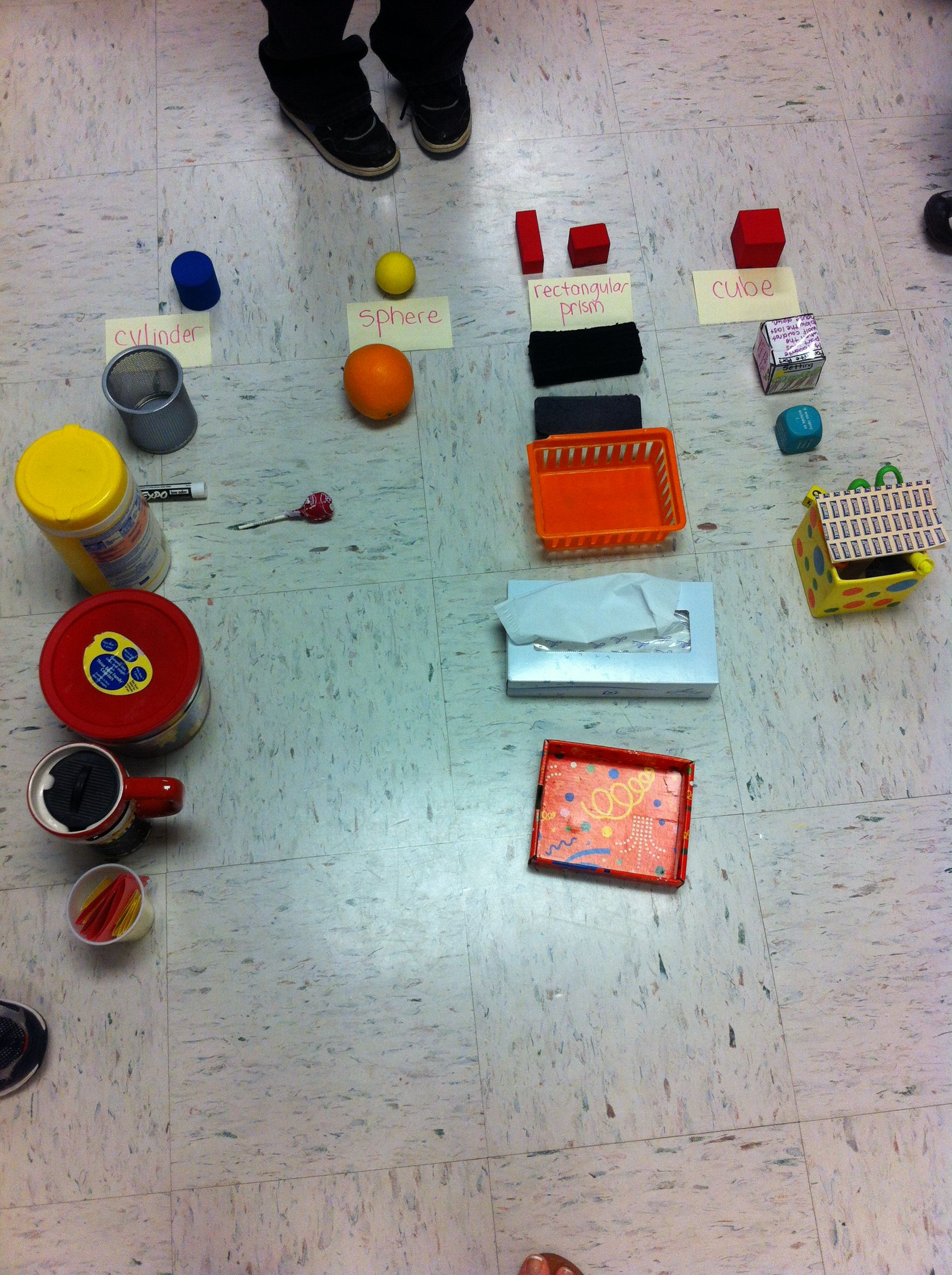 Sorting 3d Classroom Objects