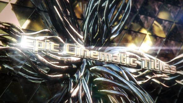 Epic Cinematic Titles (Abstract) #Envato #Videohive #aftereffects