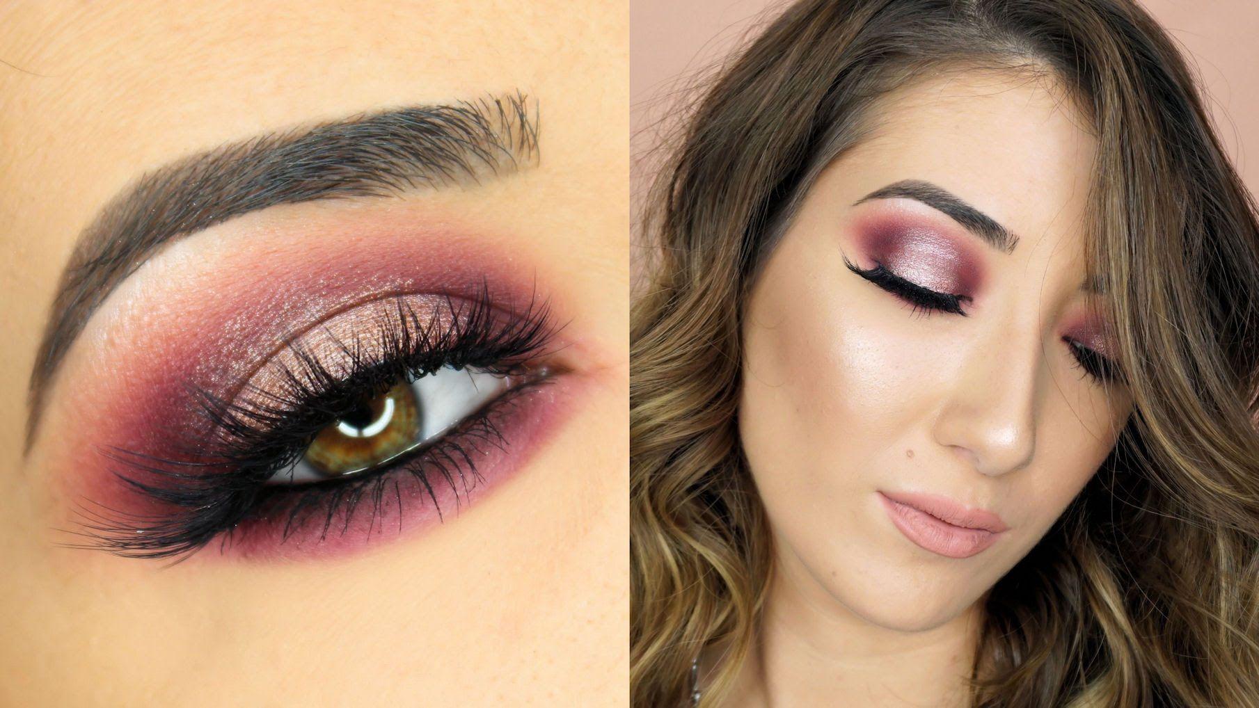 Makeup Geek x Manny MUA Palette Makeup Tutorial Face