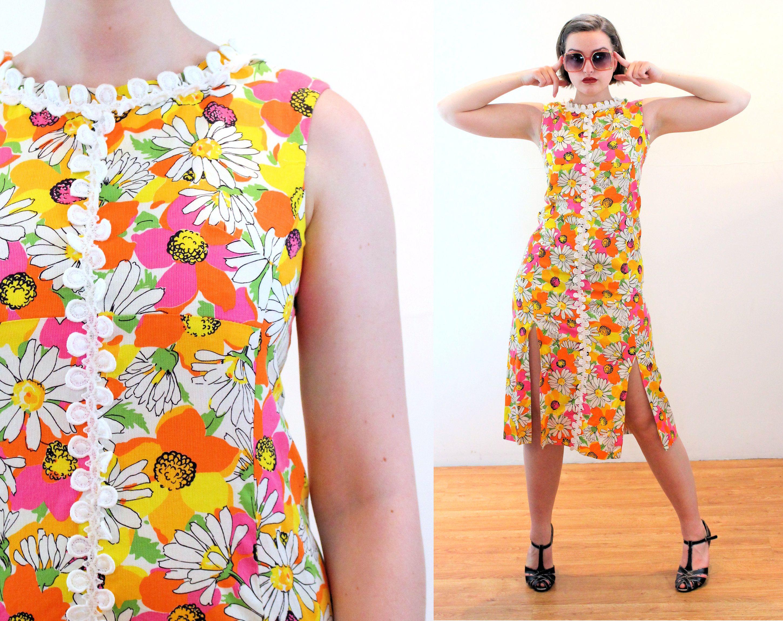 Slinky Tan Knit Midi Dress with Bohemian Sleeves 1970s Vintage Dress Sweater Dress