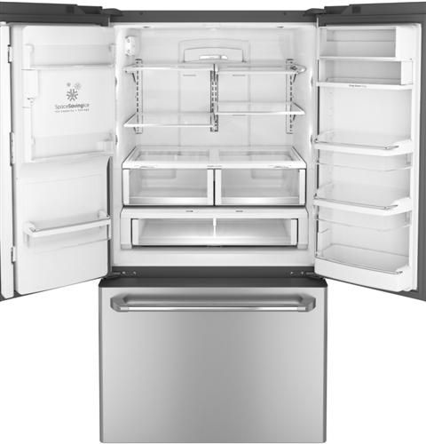 The Ge Cafe Series Counter Depth French Door Refrigerator Offers