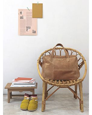 Rattan chair.aprilshowers