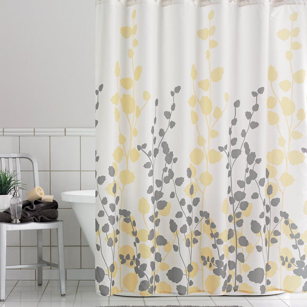 Home Classics® Ivy Fabric Shower Curtain | Down bath | Pinterest ...