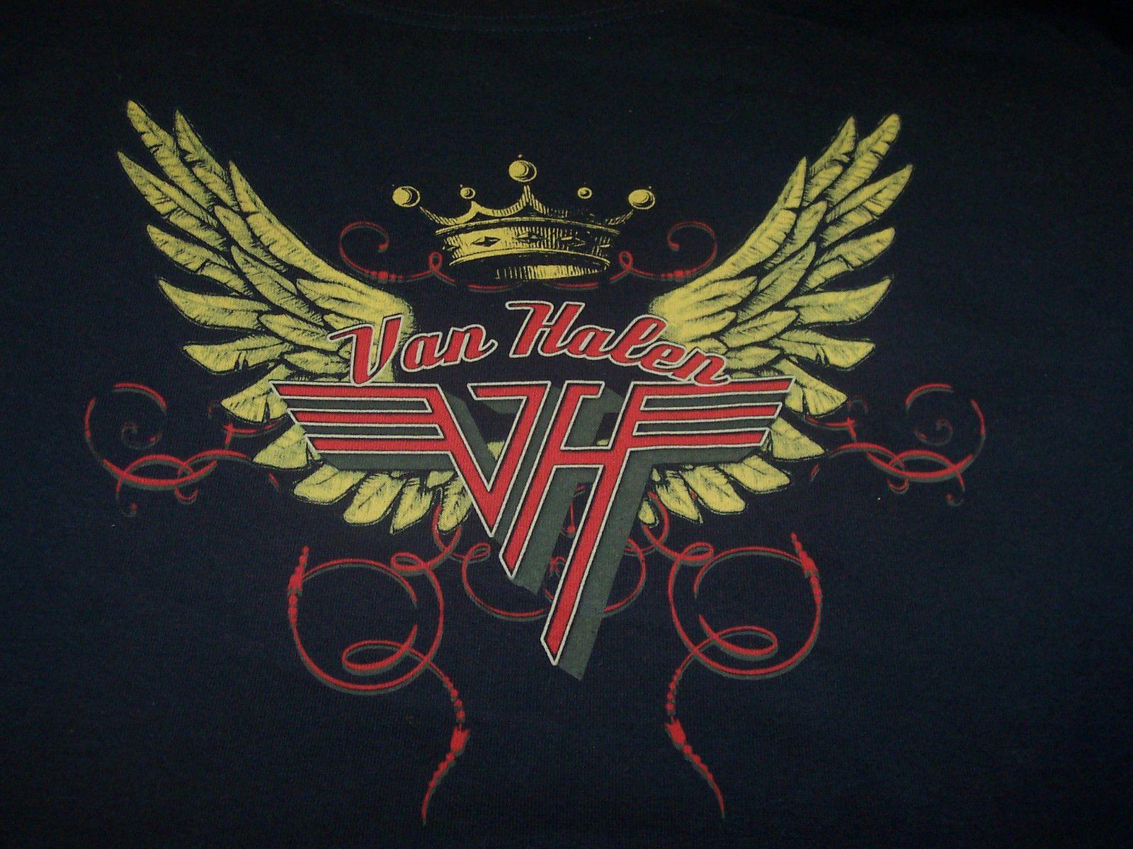 Van Halen Retail Wings T Shirt New Ebay Van Halen Halen Van