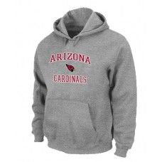 Wholesale Men Arizona Cardinals Grey Heart And Soul Pullover Hoodie_Arizona Cardinals Pullover Hoodie