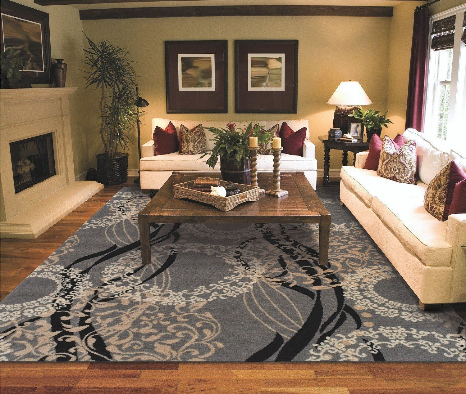 Modern Rug Contemporary Area Rugs Living Room Area Rugs Rugs In