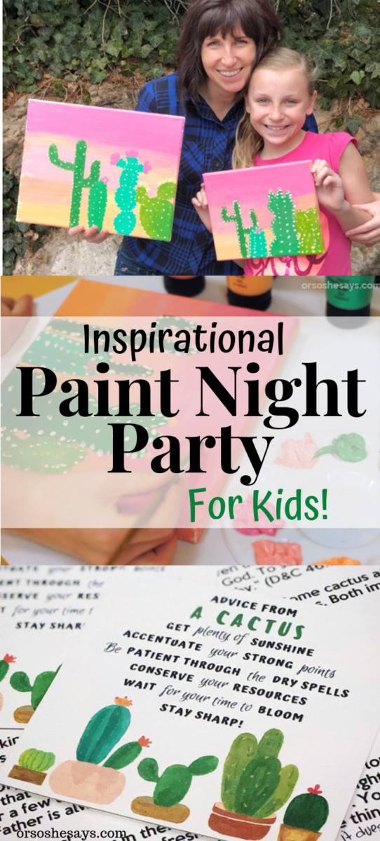 Photo of Paint Night Party with an Inspirational Twist