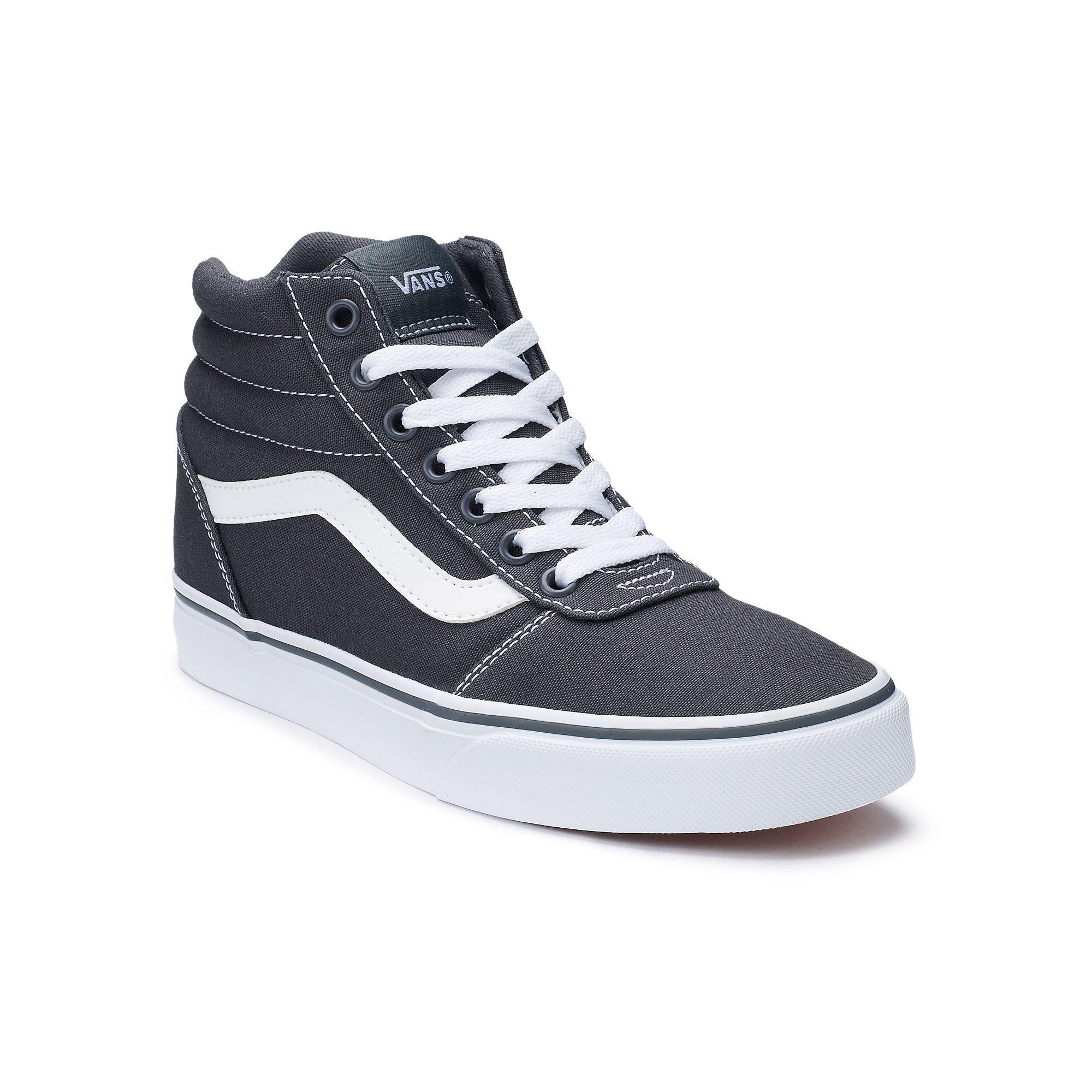Vans® Ward Hi Women's Skate Shoes | Skate shoes, Shoes, Gray