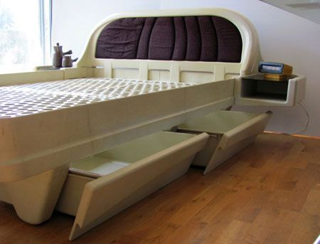 Ebay Watch James Seccombe Designed 1970s Space Age Plastic Bed