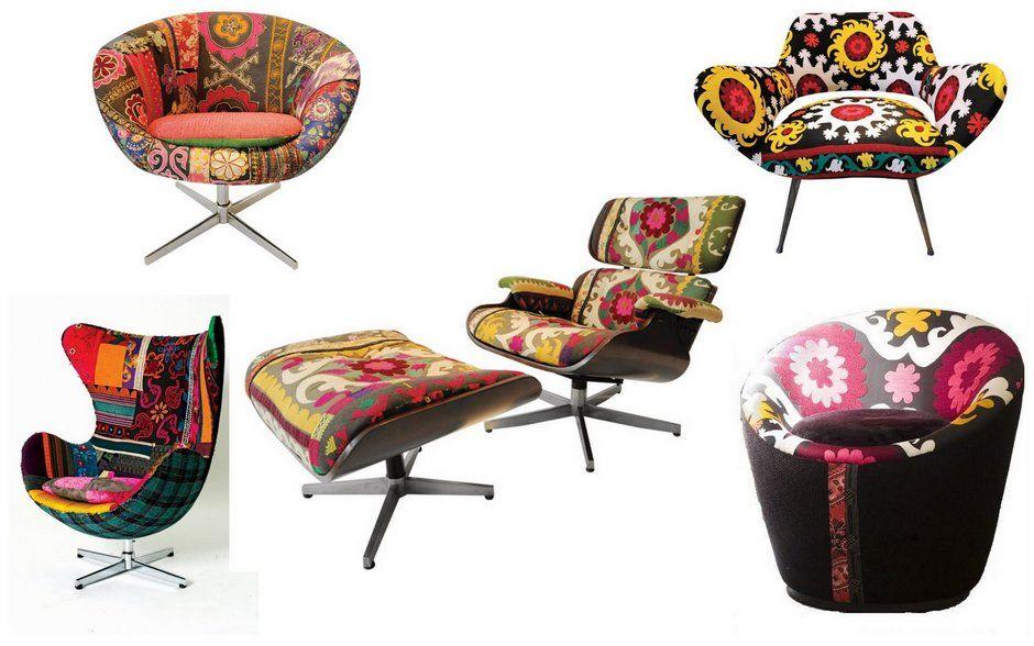 Colorful Bohemian Furniture   Off Some Design