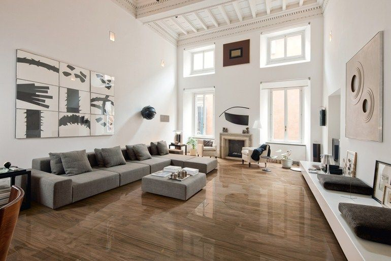 Porcelain Stoneware Flooring With Wood Effect Junglelux