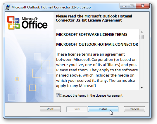 How To Get My Hotmail Email Back From Outlook