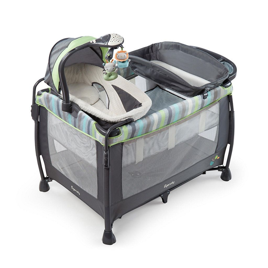 InGenuity Smart & Simple Deluxe Vesper Playard Soothing