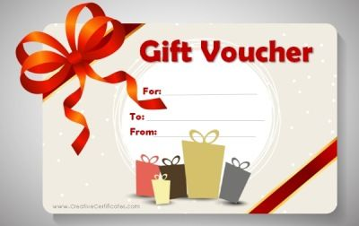 Free printable gift voucher template diy crafts pinterest free printable gift voucher template negle Images