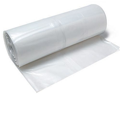 12x100 4 Mil Clear Visqueen Foam Carving Plastic Sheets Slip And Slide