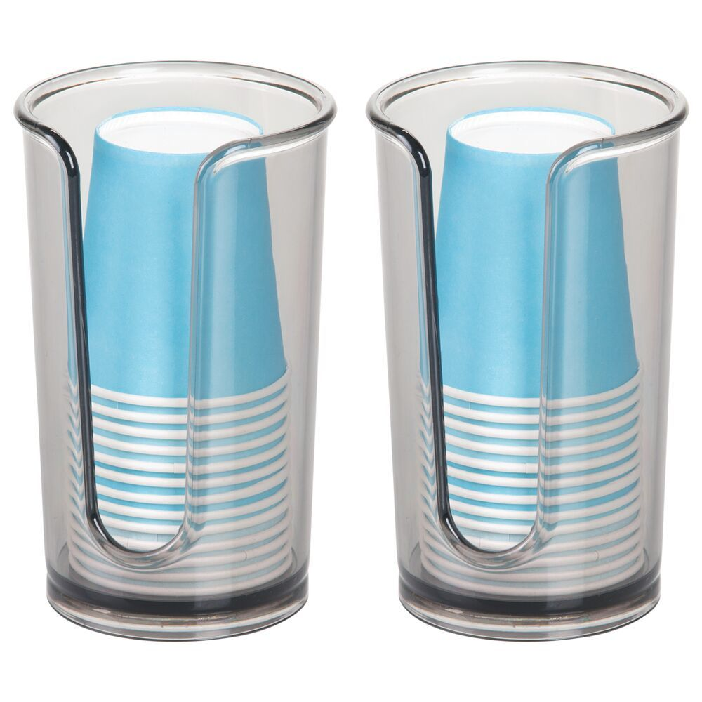 Plastic Paper Cup Dispenser Holder For Bathroom Vanity
