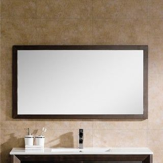 Photo of Fine lights Imperial II 48-inch hanging mirror (black)