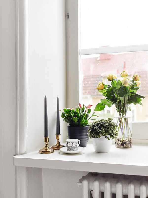 Window Sill - Stadshem | Home Decor | Home decor styles ...