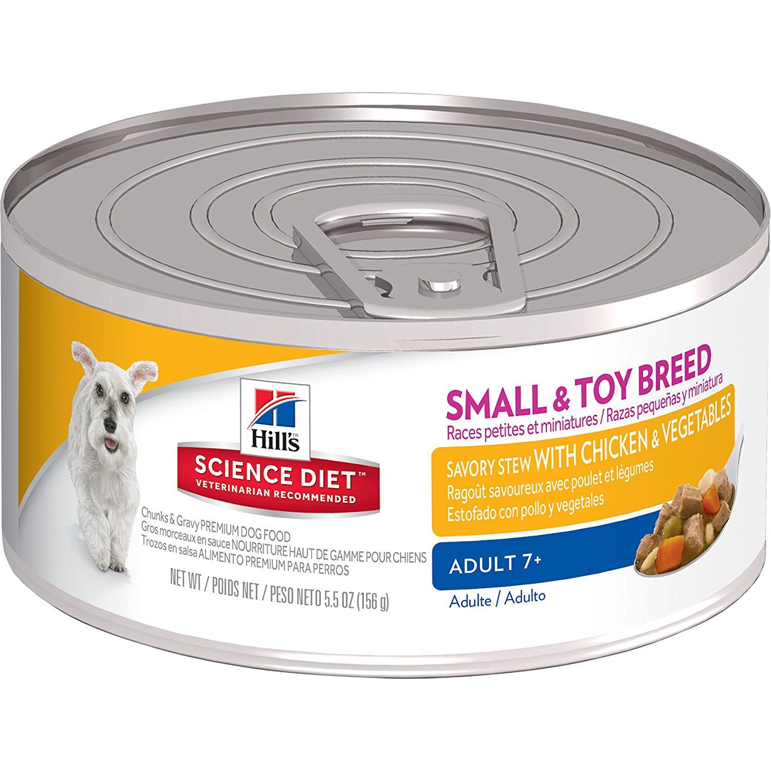 Hill's Science Diet Adult 7 Small and Toy Savory Stew