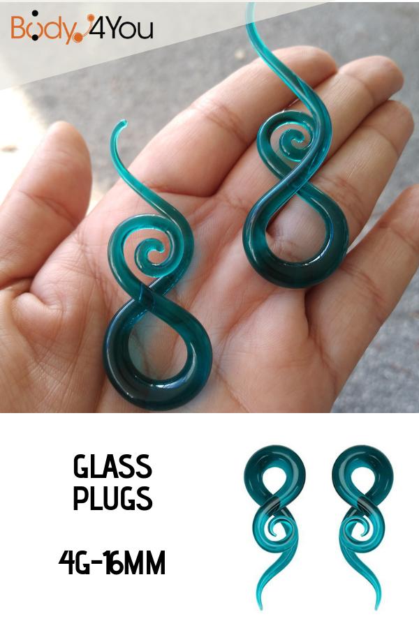 BodyJ4You Fake Gauges Kit Faux Plugs 0G-8G Gauges Look 14 Pieces