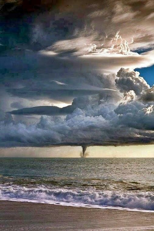 Water spout in Italy