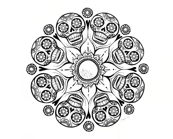 coloring pages adult mandala coloring pages free printable - Free Cool Coloring Pages For Adults