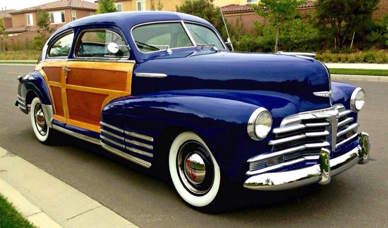 1948 Chevrolet Fleetline Country Club Woody Aerosedan Beautiful