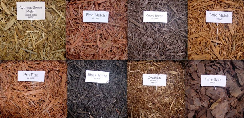 Different Colours And Textures Of Mulch Available. This Comparative Chart  Might Help You To Pick An Appropriate Type Of Mulch For Your Garden.