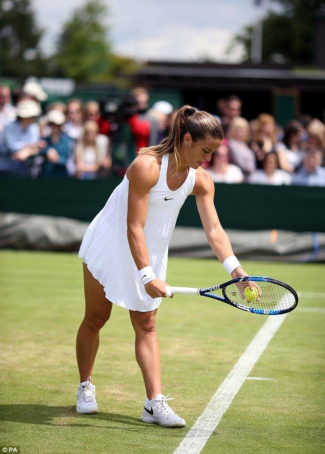 Do These Players Outfits Really Meet The Strict Wimbledon Dress Code Womens Tennis Dress Tennis Players Female Tennis Workout