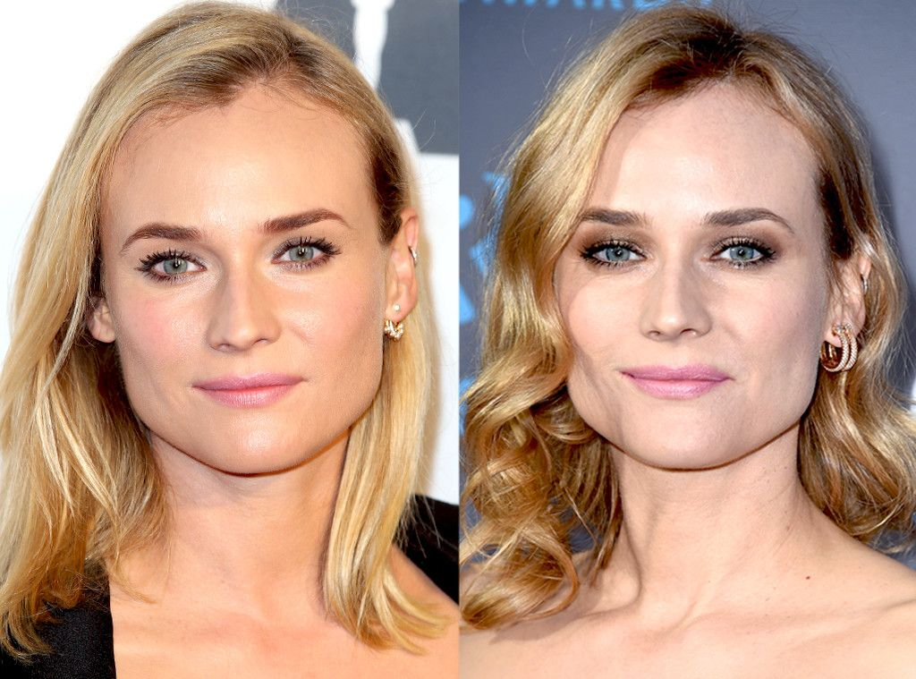 Diane Kruger From Celebrities Changing Hair Color Pinterest