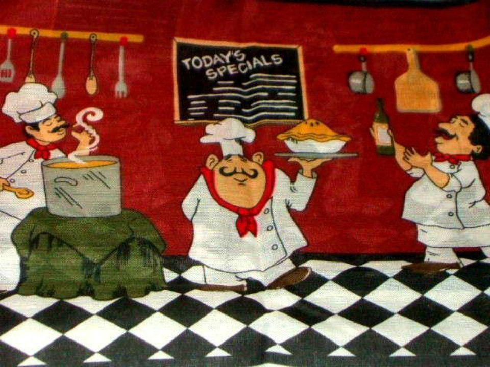 Fat Chefs Kitchen Curtains Set
